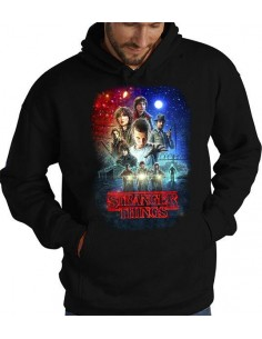 Sudadera Stranger Things Poster