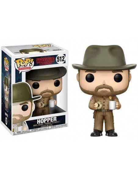 Funko Pop! Jim Hopper Jefe de policia