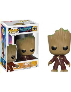 Funko Pop Groot traje rojo exclusivo