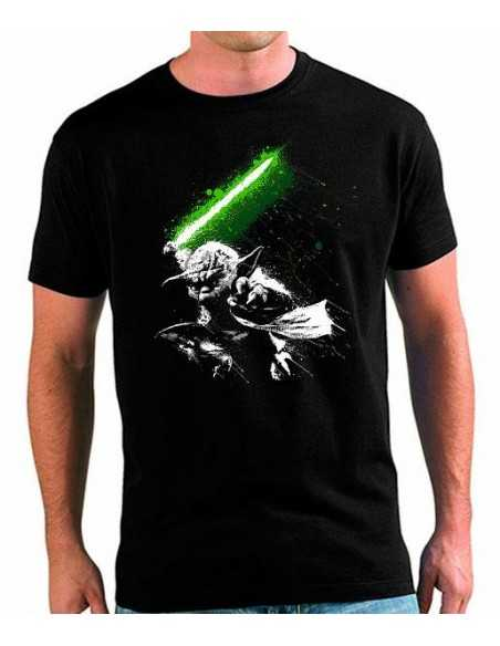 Camiseta Star Wars Yoda Fight