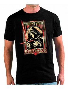 Camiseta Star Wars Want You