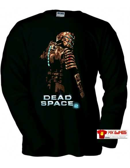 Camiseta Dead Space 2 (Art) manga larga negra