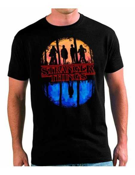 Camiseta Stranger Things Mundo del Revés