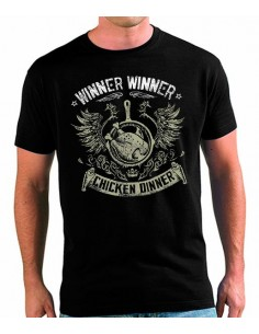 Camiseta playerunknown's battlegrounds Chicken