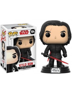Funko Pop Star Wars Kylo Ren sin máscara