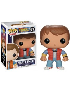 Funko Pop Marty Mcfly Regreso al Futuro