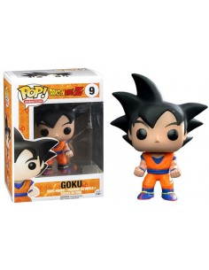 Funko Pop Son Goku Black Hair