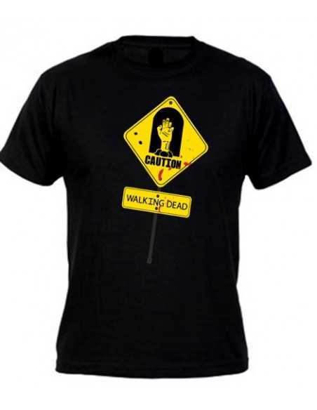 Camiseta Walking Dead Caution