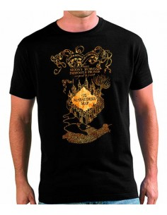 Camiseta Harry Potter mapa merodeador