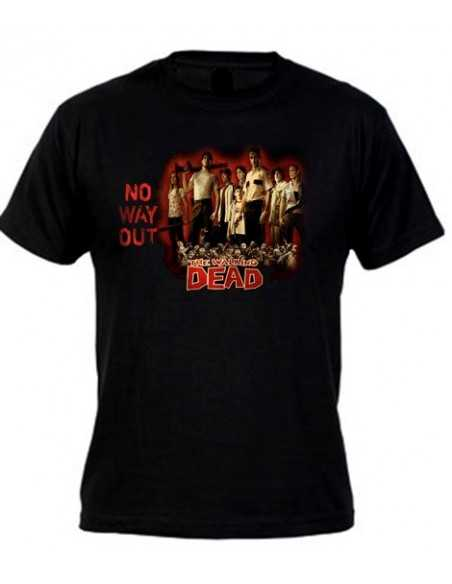 Camiseta Walking Dead (way tv)